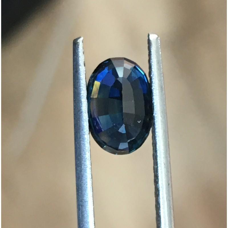 1.75 Carats Natural Dark blue sapphire |Loose Gemstone|New Certified| Sri Lanka