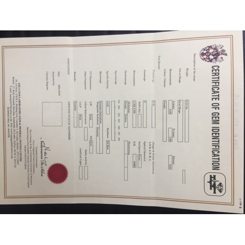 2.12 Carats Natural Pink sapphire |Loose Gemstone|New Certified| Sri Lanka