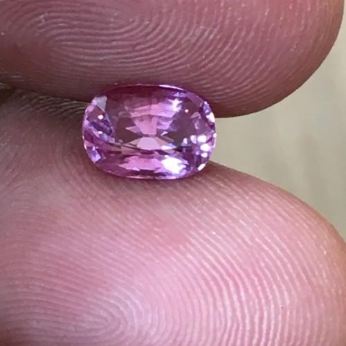 1.39 Carats   Natural Pink sapphire  Loose Gemstone New Certified  Sri Lanka