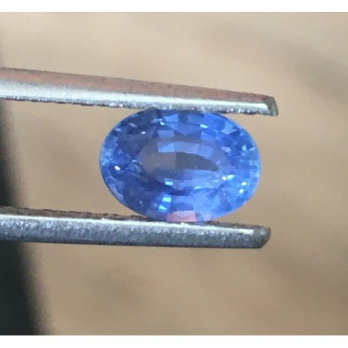 0.94 Carats Natural Blue Sapphire |Loose Gemstone|New Certified| Sri Lanka