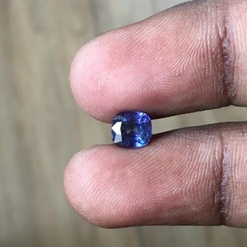 1.23 Carats | Natural Unheated Violet Sapphire|Loose Gemstone|New| Sri Lanka