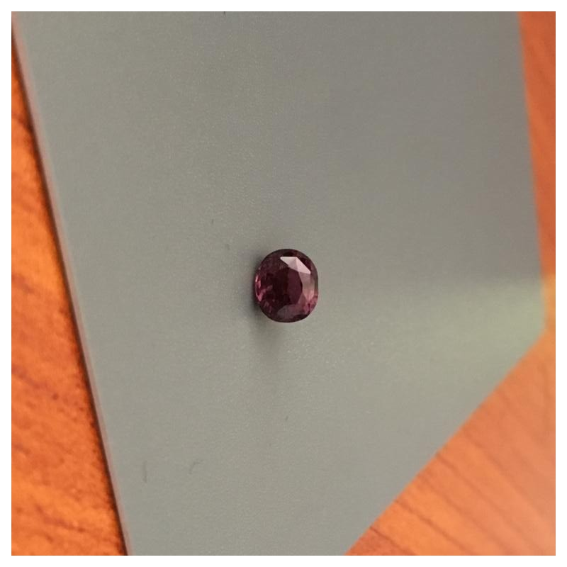 1.1 CTS | Natural purplish Orange Pink sapphire |New| Sri Lanka