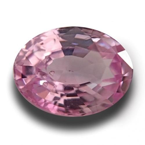 1.22 CTS | Natural Pink sapphire |Loose Gemstone|New| Sri Lanka