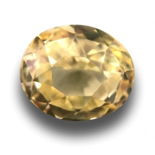 1.21 CTS | Natural Unheated yellow sapphire |New| Sri Lanka