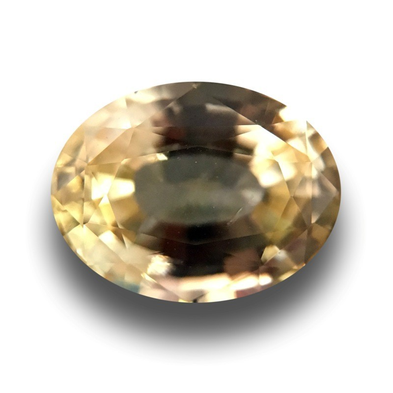 1.54 CTS | Natural Unheated yellow sapphire |New| Sri Lanka