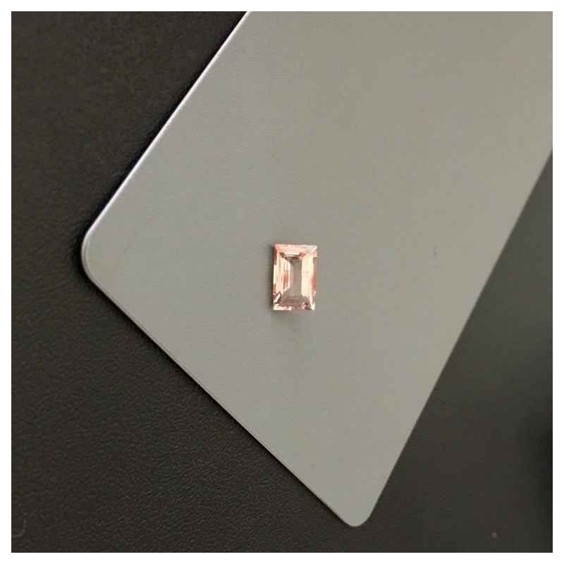 1.02 CTS | Natural yellowish Pinkish Orange sapphire |Loose Gemstone| Sri Lanka