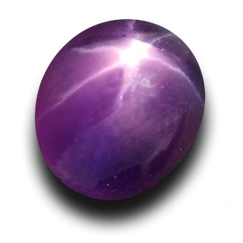 1.21 CTS | Natural Unheated purple star sapphire |New| Sri Lanka