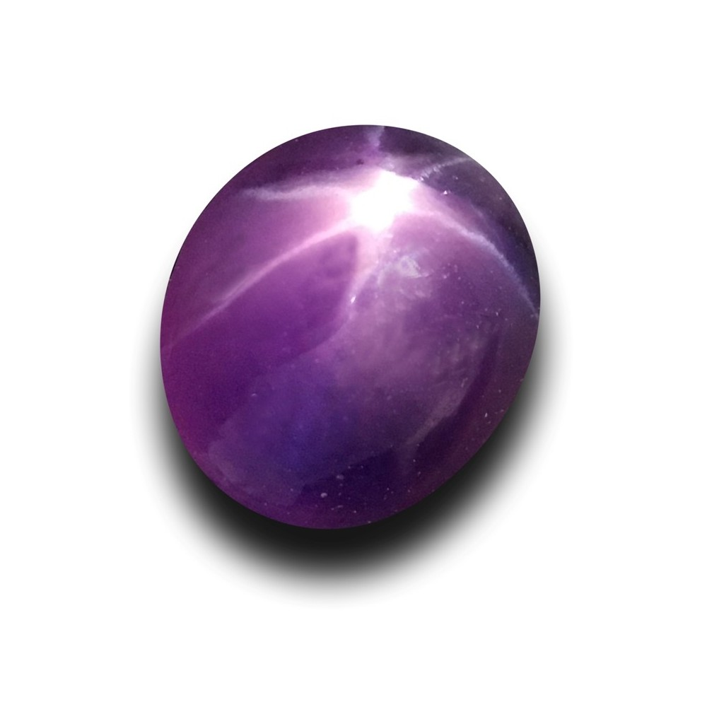 1 21 Cts Natural Unheated Purple Star Sapphire New Sri