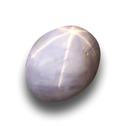 7.16 CTS | Natural Unheated gray star sapphire |New| Sri Lanka