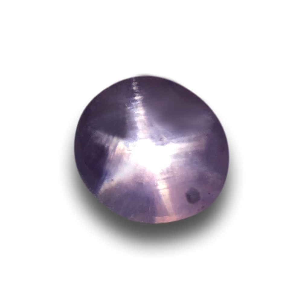 4 13 Cts Natural Unheated Purple Star Sapphire Loose