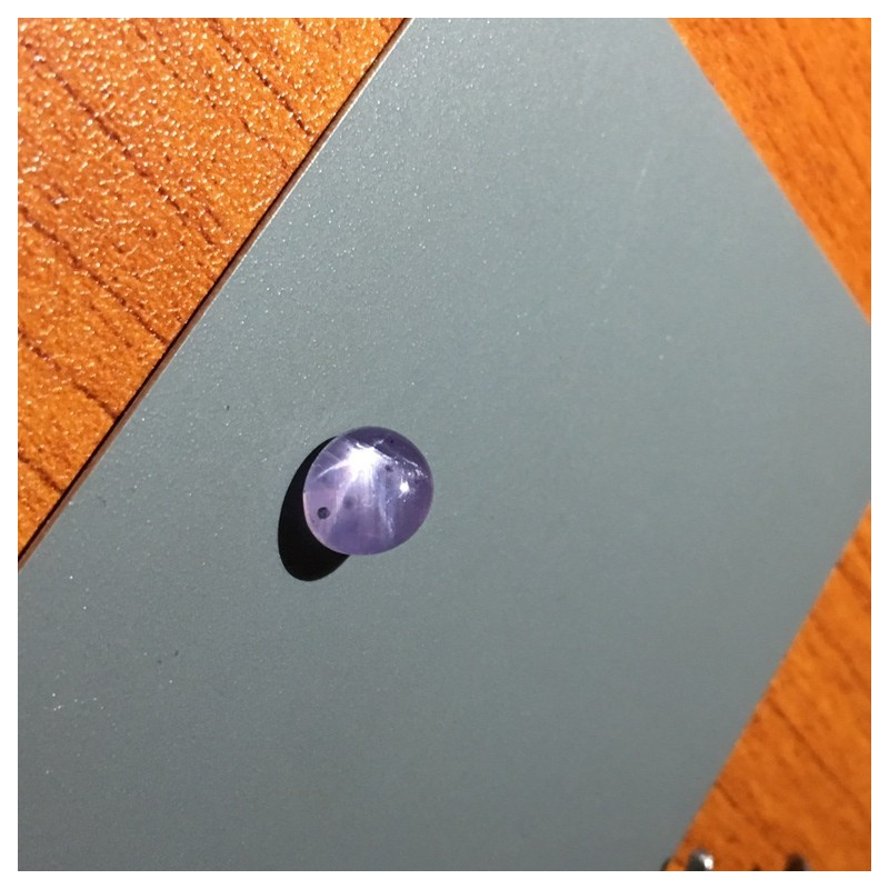 4.13 CTS | Natural Unheated purple star sapphire |Loose Gemstone|New| Sri Lanka