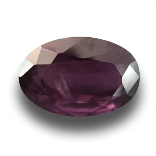 2.95 CTS | Natural Unheated purple sapphire |New| Sri Lanka