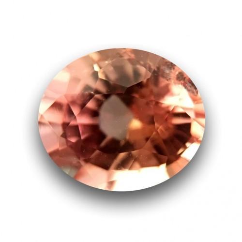 0.75 CTS | Natural Pinkish Orange padparadscha |Loose Gemstone|New| Sri Lanka