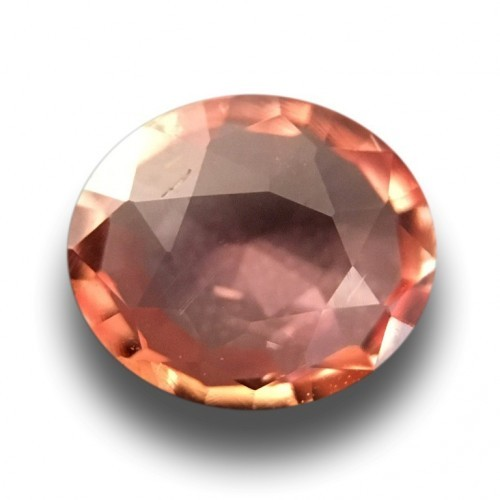 0.97 CTS | Natural Pinkish Orange padparadscha |Loose Gemstone|New| Sri Lanka