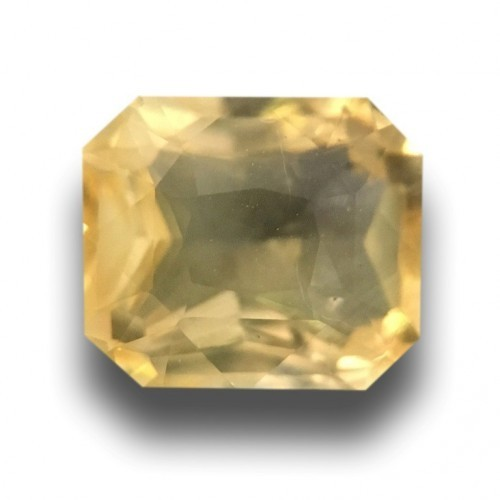 1.5 CTS | Natural Unheated Yellow sapphire |Loose Gemstone|New| Sri Lanka