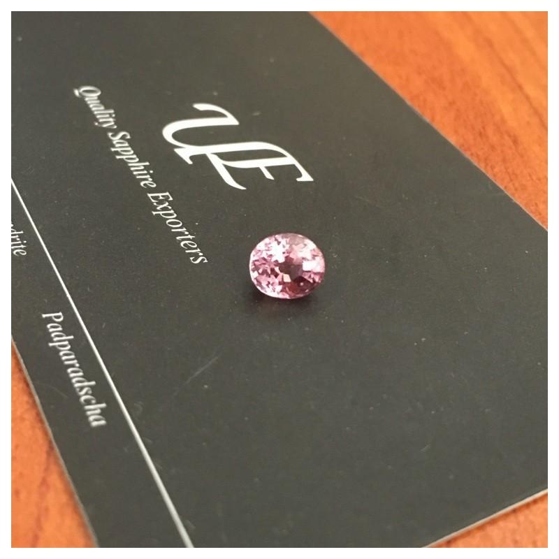 1.39 CTS | Natural Orange Pink padparadscha |Loose Gemstone|New| Sri Lanka