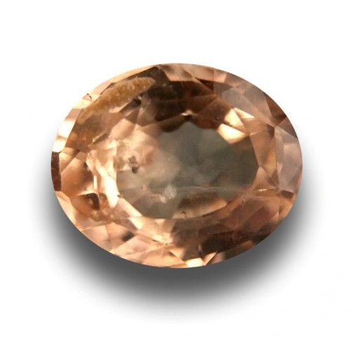1.79 CTS | Natural Unheated Pinkish Yellow sapphire |Loose Gemstone|New| Sri Lanka