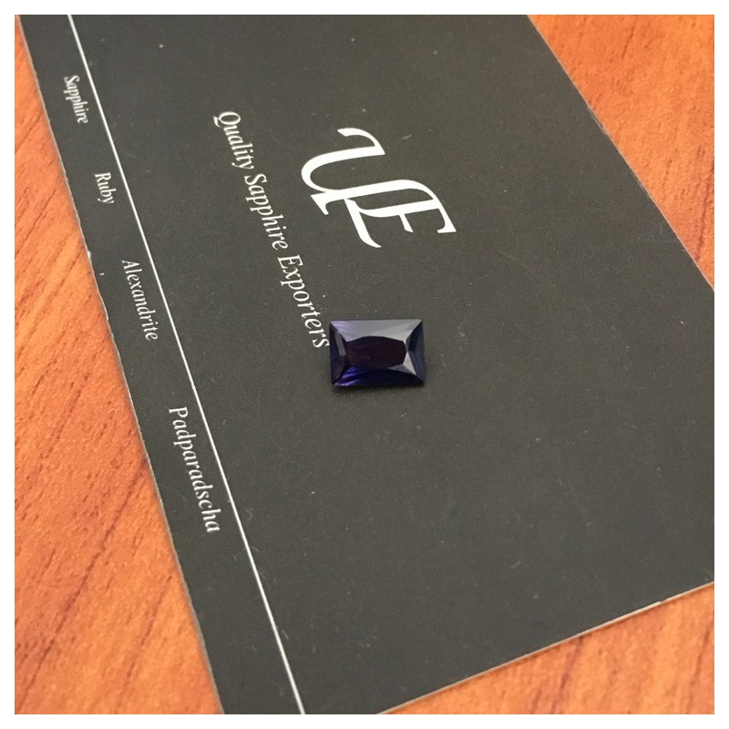 1.56 CTS | Natural Blue sapphire |Loose Gemstone|New| Sri Lanka