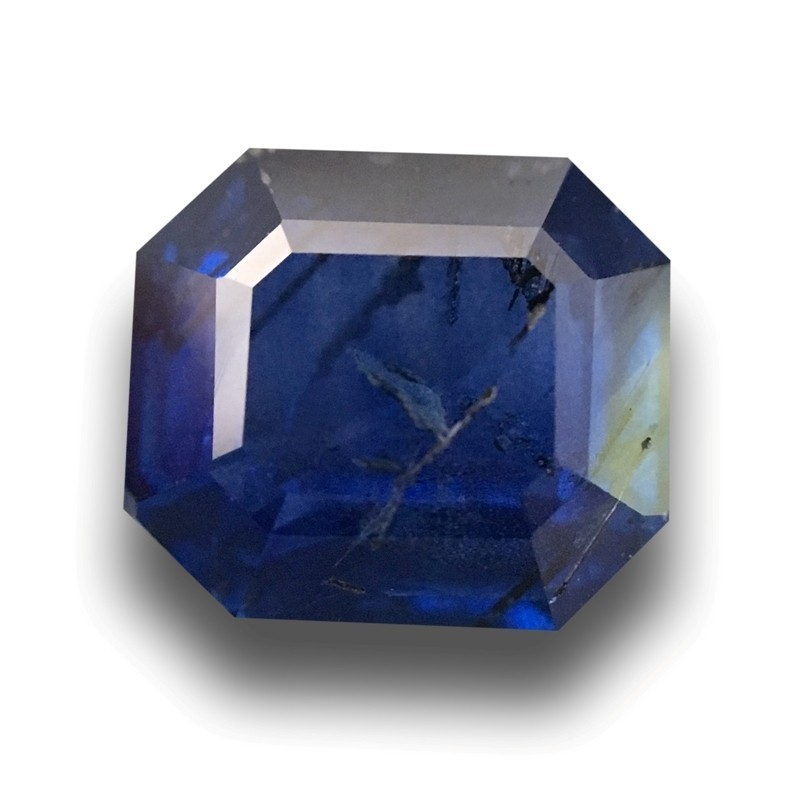 2.22 Carats Natural Blue Sapphire |Loose Gemstone|New Certified| Sri Lanka