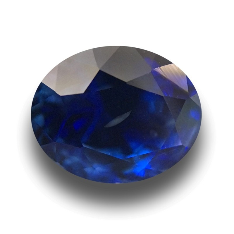 1.68 Carats Natural Blue Sapphire |Loose Gemstone|New Certified| Sri Lanka