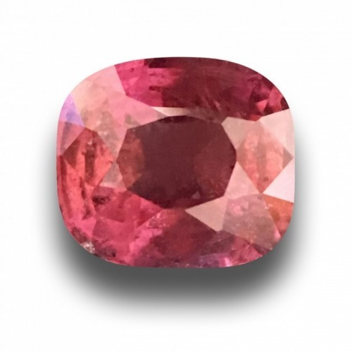 1.2 CTS | Natural Rediish Orange Pink sapphire |Loose Gemstone|New| Sri Lanka