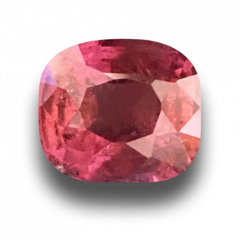 1.2 CTS   Natural Rediish Orange Pink sapphire  Loose Gemstone New  Sri Lanka